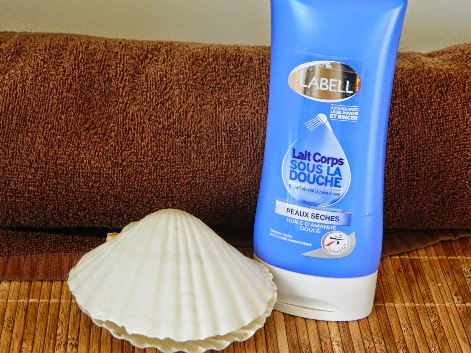 Je teste des produits lait corps sous la douche labell - Lait corps sous la douche ...