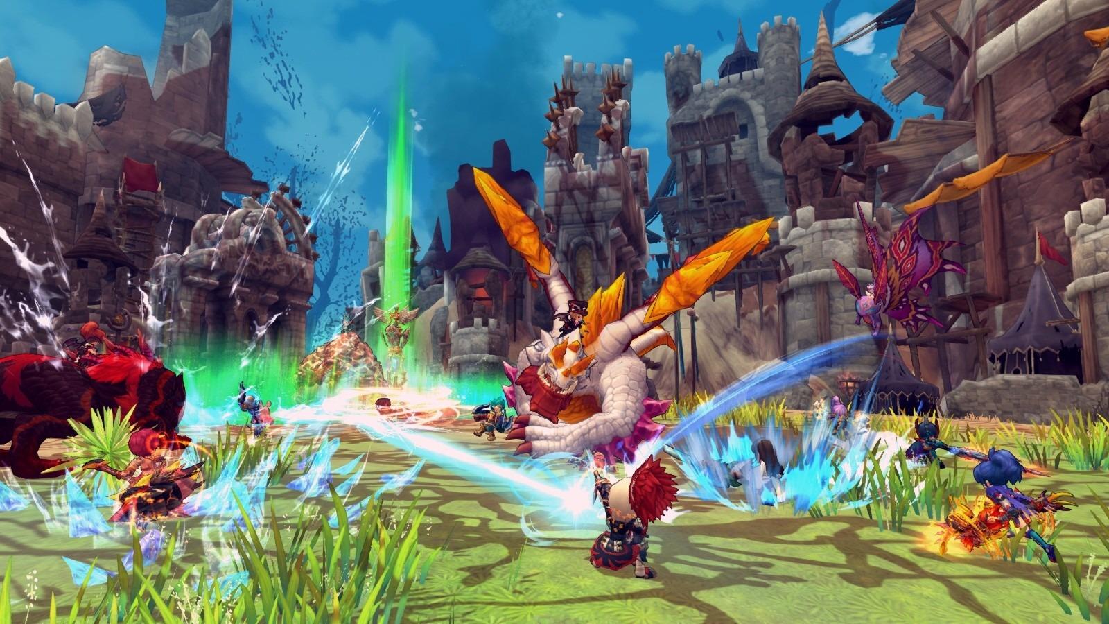 Dragon Slayer Online 500 vs 500