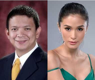 Sen. Chiz Escudero and Heart Evangelista