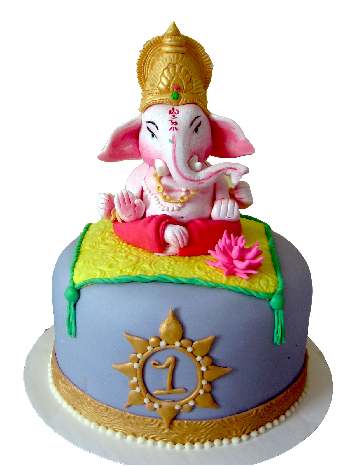 Ganesha Cake Images : Pin Ganesh Cake Debbie Brown Tartistas Cake on Pinterest