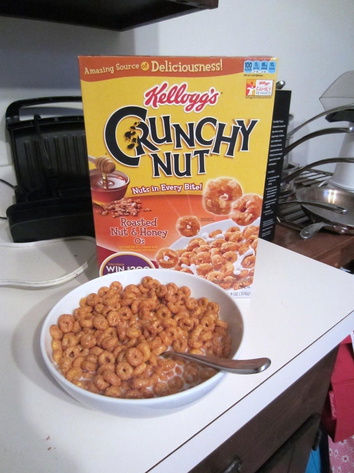 Crunchy cereal
