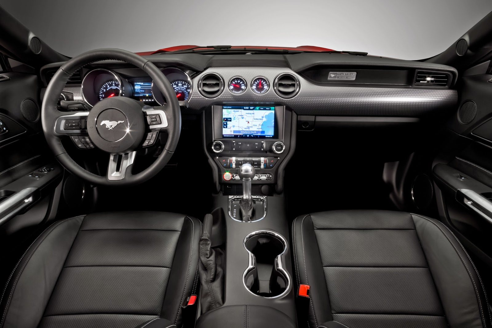 2015 Ford Mustang Interior Car Wallpaper