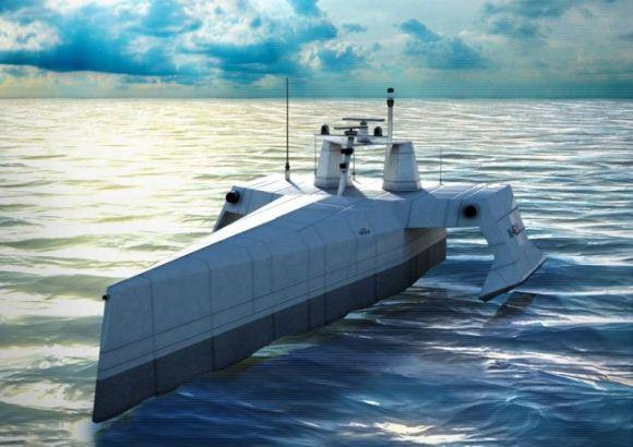 Desain ACTUV, kapal tanpa awak anti-kapal selam AS