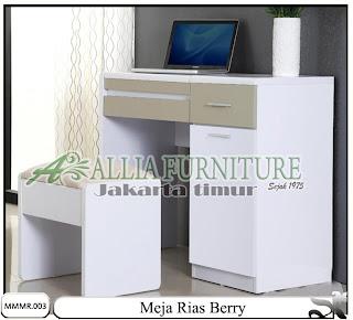 Meja rias model minimalis modern Berrry
