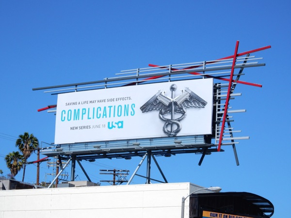 Complications season 1 billboard