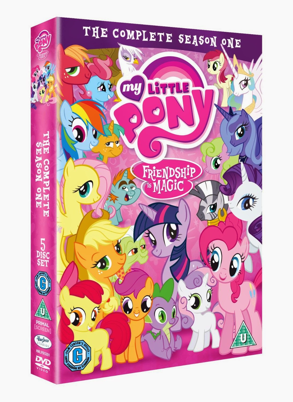 equestria daily mlp stuff uk season one dvd set preorder