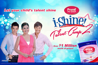 Promil i-Shine Talent Camp on ABS-CBN