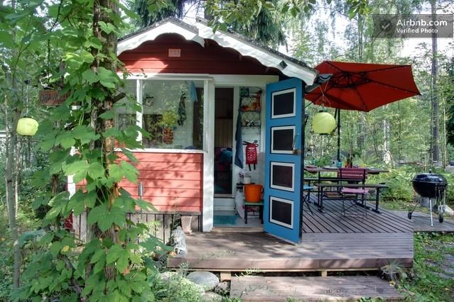 A Tiny Cottage Rental House In Helsinki