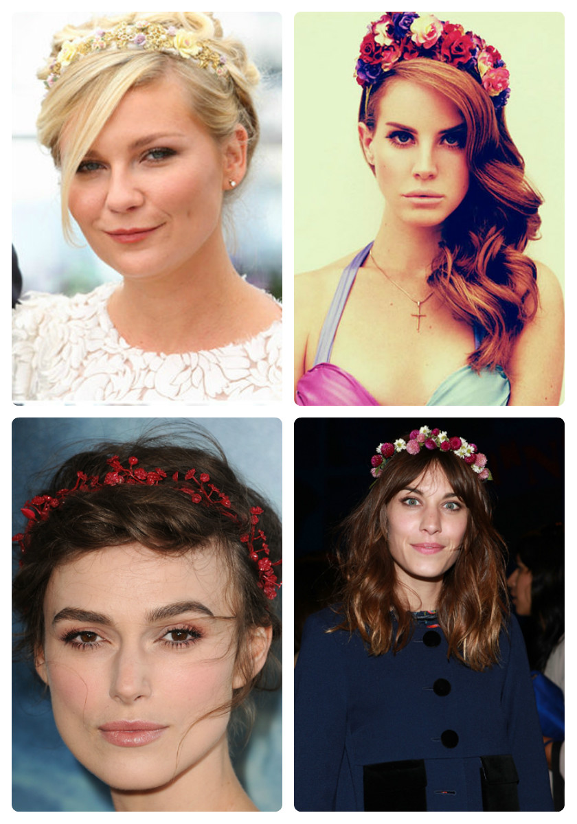 How to flower wear headband