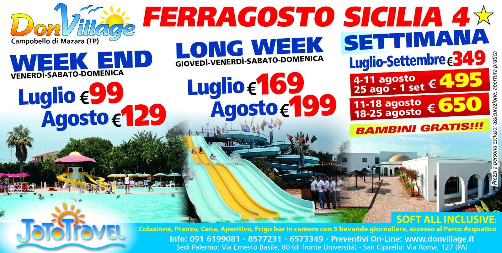 Offerte e last minute in Villaggio Vacanze in Sicilia - Zahira Resort