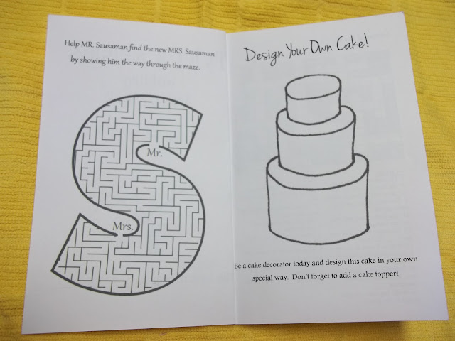 Free Printable Wedding Activity Sheets