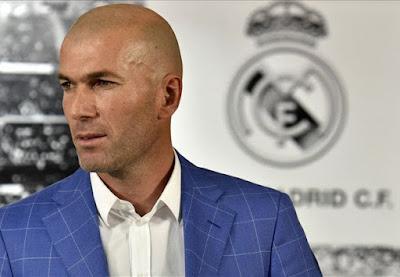 Zinedine Zidane Resmi Latih Real Madrid www.guntara.com