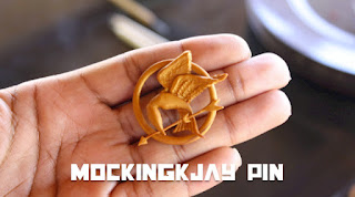 how to make your own mockingjay pin