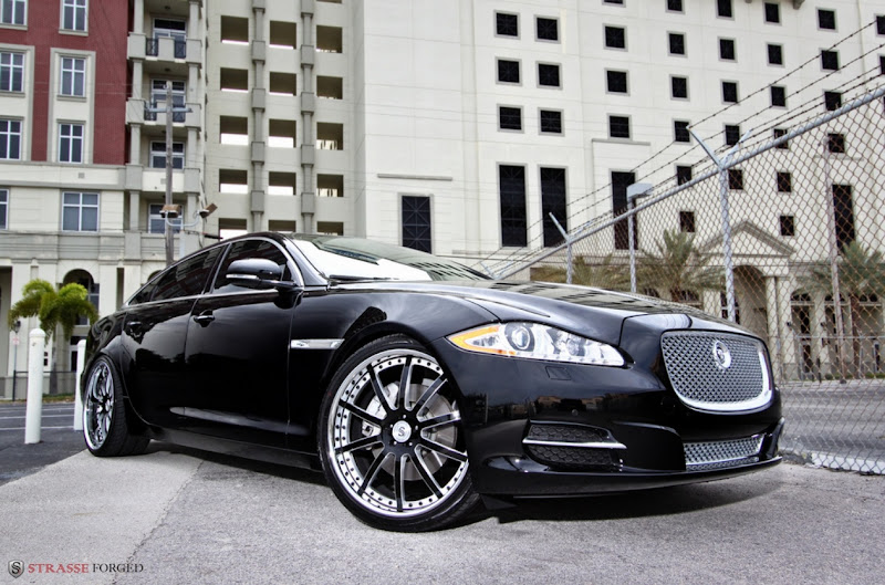 2011 Jaguar XJL Strasse Forged Modify