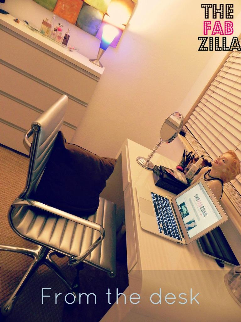 Sneak A Peek My New Makeup Room Home Office Before