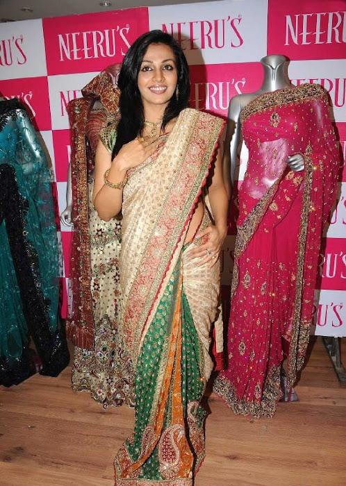 asha saini aka mayuri in silk saree unseen pics