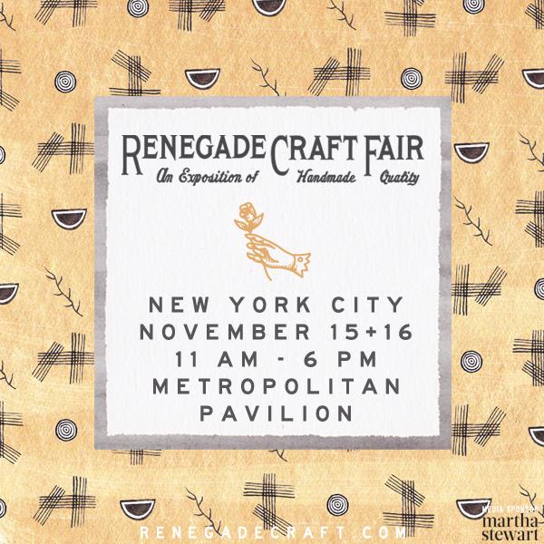 http://www.renegadecraft.com/newyork-november-market-details