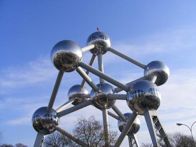 Atomium, Bruxelles, Belgia