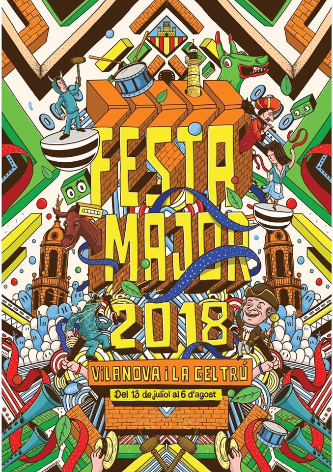 FESTA MAJOR.18 del 13 de juliol al 6 d'agost