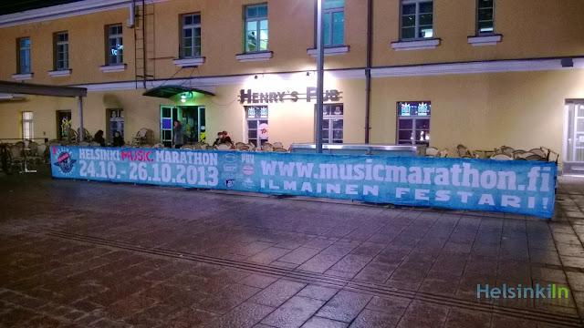 Helsinki Music Marathon 2013
