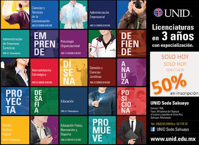 Licenciaturas sabatinas noviembre 2013 for Licenciaturas sabatinas