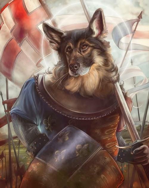 05-King-Henry-V-Animals-From-History-Illustrator-&-Writer-Christina-Hess-www-designstack-co