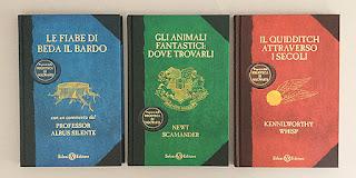 Le nuove copertine dei libri della Biblioteca di Hogwarts