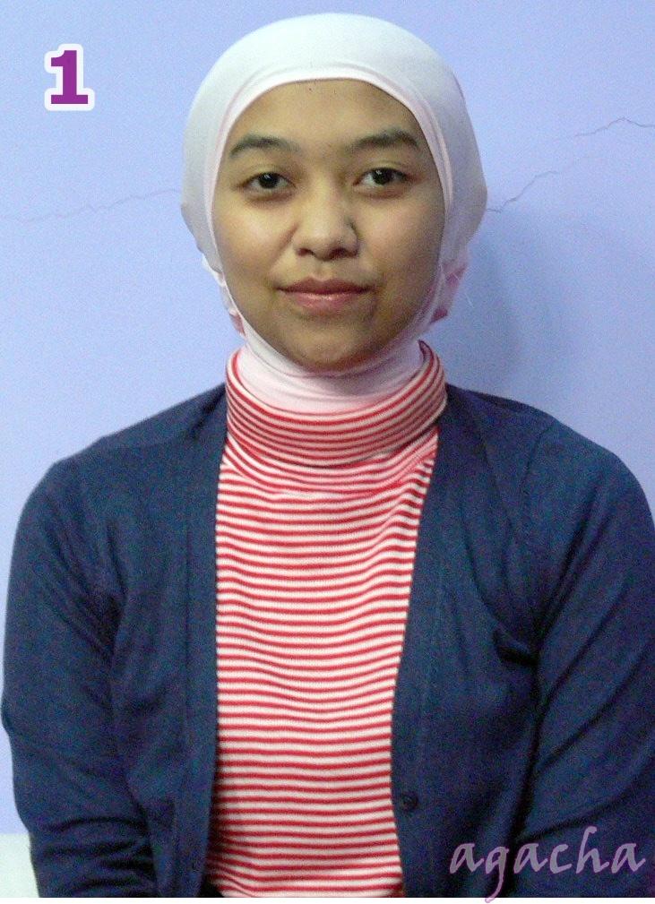 One Step Closer: Hijab Tutorial: CUBA's style by Agacha