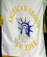 American Legion New York banner