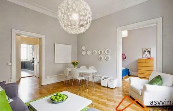 Bí quyết lựa chọn màu sắc trang trí cho phòng khách