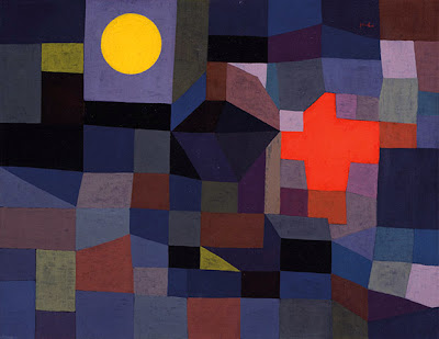 Paul Klee -Fire at full moon,1933.