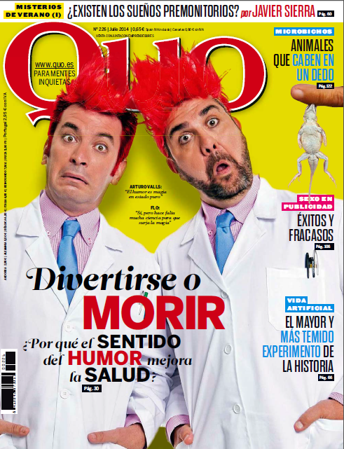 Revista Quo Julio 2014 PDF Divertise o morir