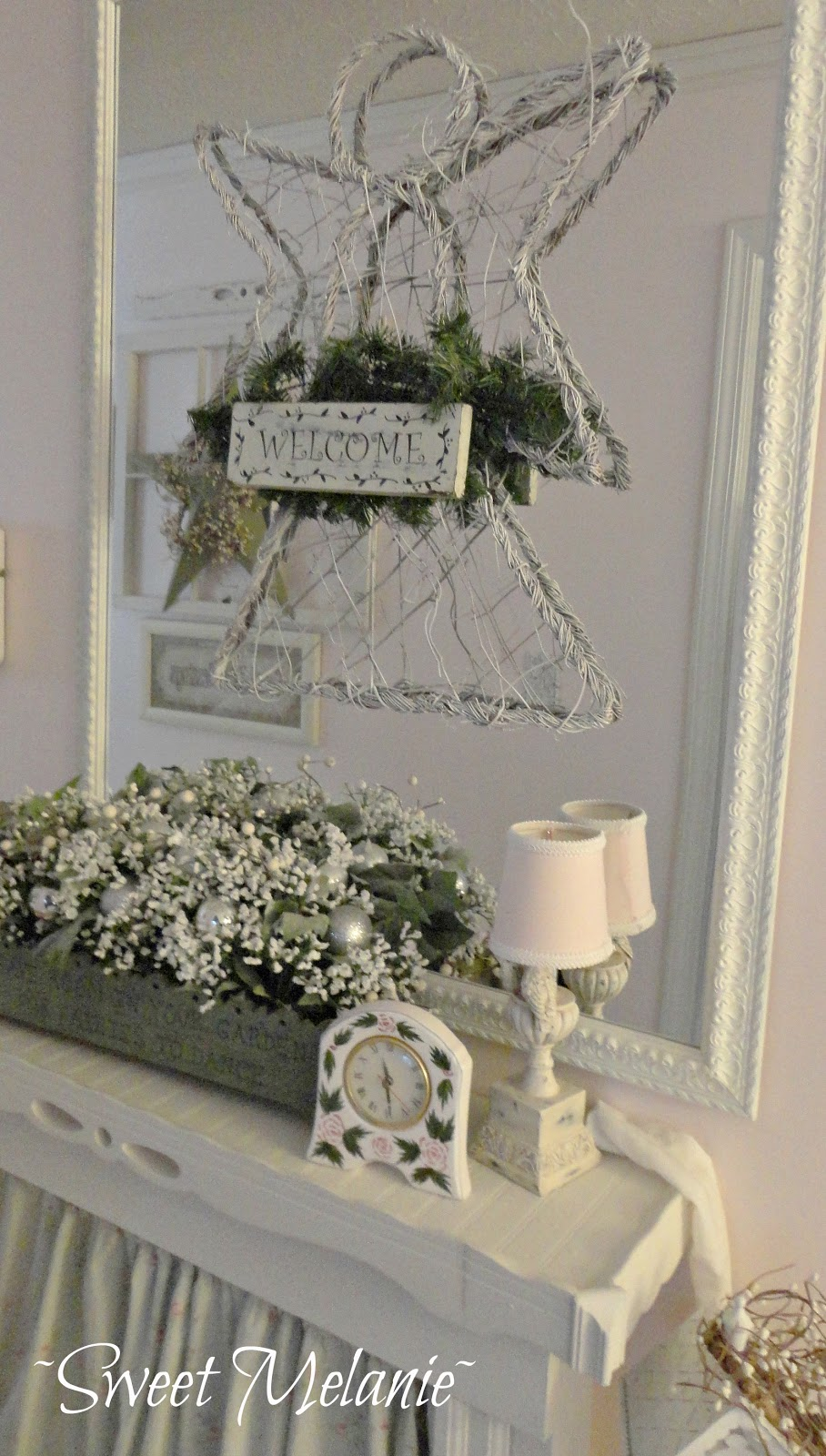 shabby chic christmas home tour debbiedoo u0027s