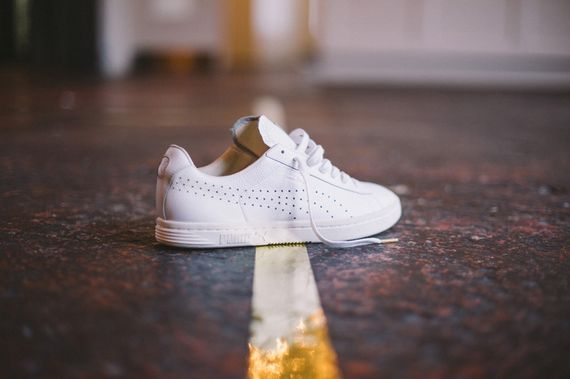 puma court star all white