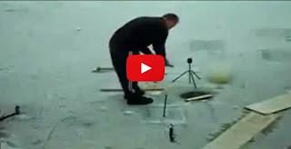 Russian ice fishing