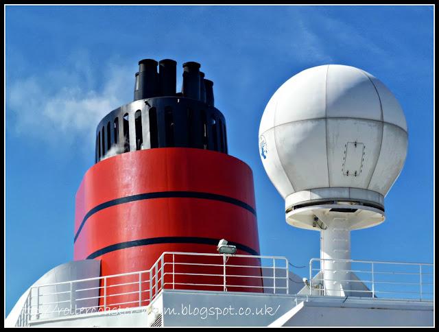 Cunard funnel