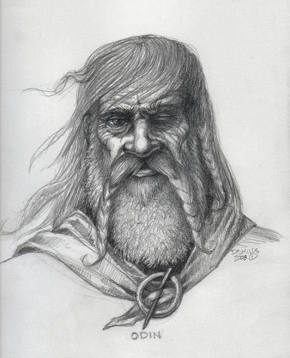 http://www.elfwood.com/~danmills/Odin-Sketch.2663780.html