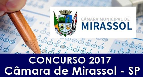 Apostila Câmara de Mirassol SP 2017