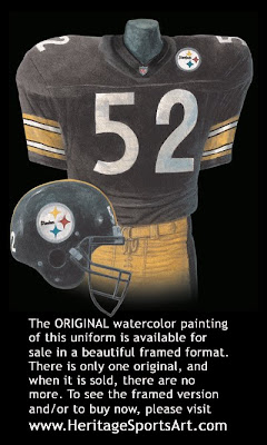Pittsburgh Steelers 2000 uniform