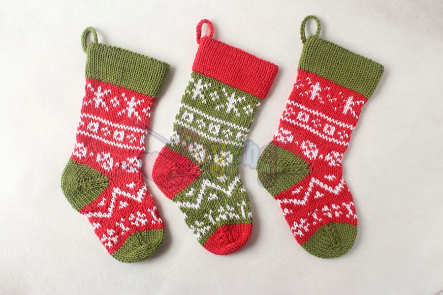 Mini Christmas Stocking Knitting Pattern Free i Made This Christmas Stocking