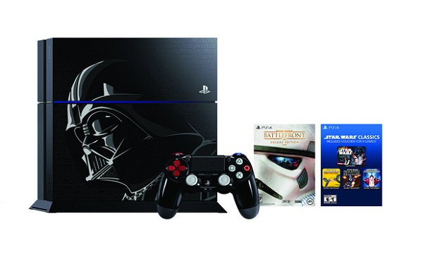 SONY launches Darth Vader-inspired PS4 Limited Edition, coming this November