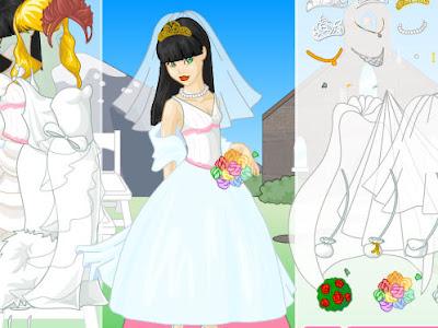 Juego de moda para bodas