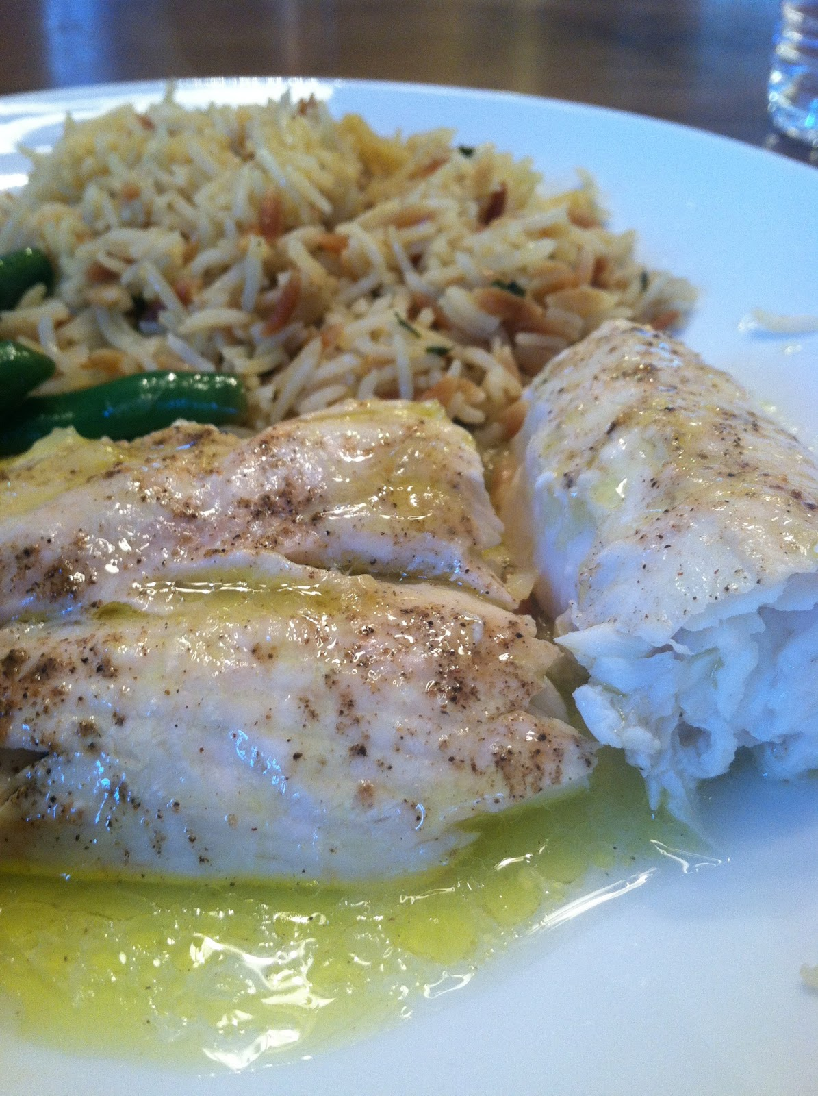 Parsley polka dots easy healthy halibut for Easy fish dinner