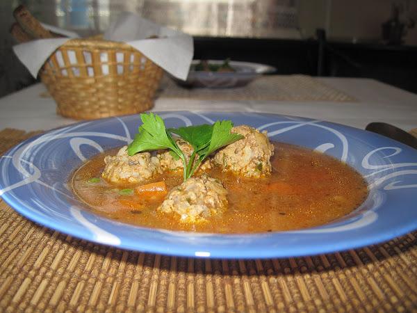Мексиканский суп с фрикадельками (Albondigas Soup)