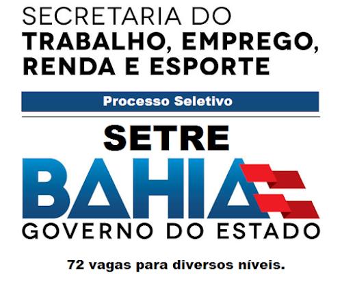 Apostila Concurso Setre - Secretaria do Trabalho da Bahia - Técnico de Nível Superior e Médio