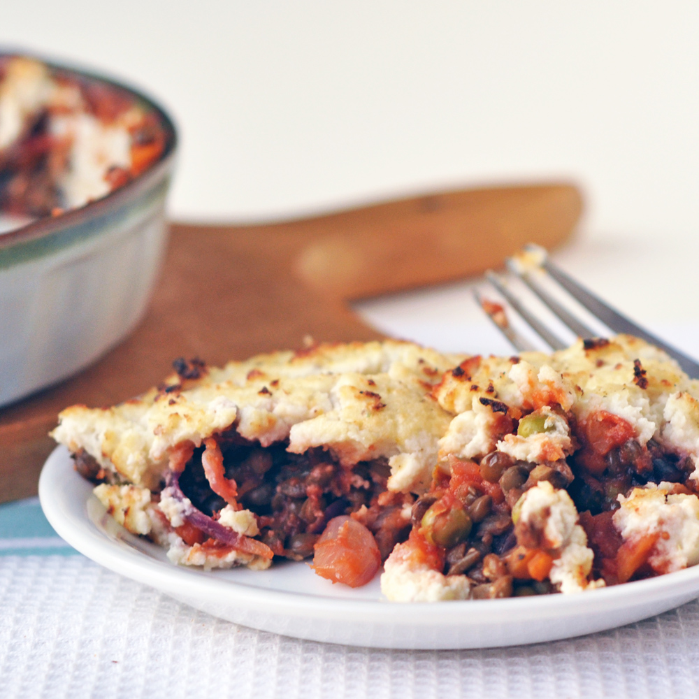 lightened up shepherds pie
