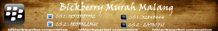 BLACKBERRY MURAH MALANG
