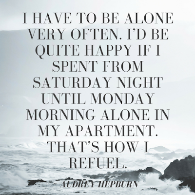 Life of an introvert, introvert quotes, Audrey Hepburn