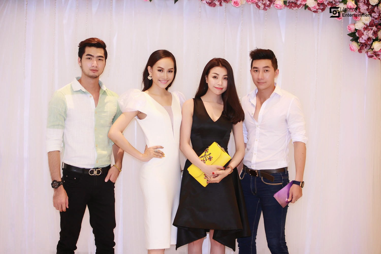 Đàm Thanh tình tứ cùng Á Hậu Kim Duyên dự họp báo Model & Talent 2015