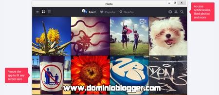 Carga tus archivos en Instagram con Pixsta